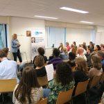 Spreker Janke Papa in Haarlem